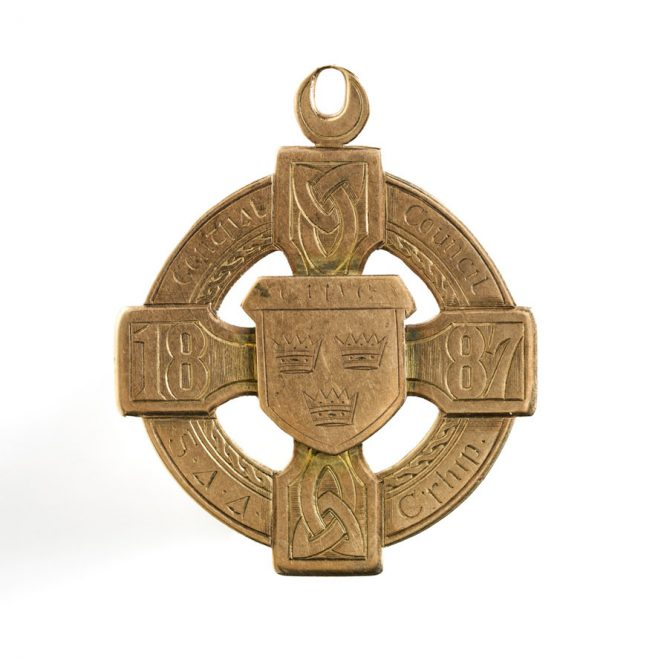 87. GAA medal, 1887 | National Museum of Ireland - Decorative Arts & History,